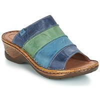 Zapatos Mujer Zuecos (Mules) Josef Seibel CATALONIA 64 Azul