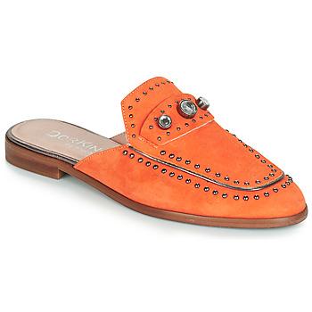 Zapatos Mujer Zuecos (Mules) Dorking 7783 Naranja