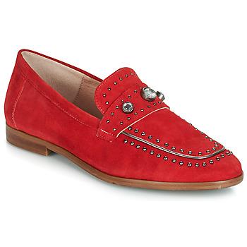 Zapatos Mujer Mocasín Dorking 7782 Rojo