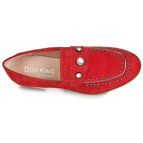 7782 Mujer Dorking Zapatos Rojo Mocasín 9eWEY2DHI