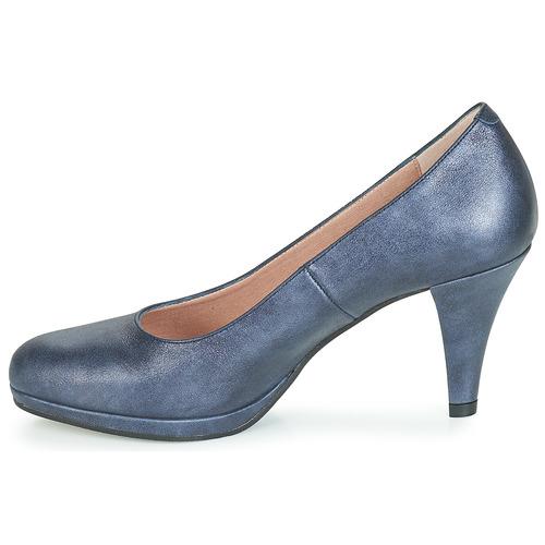 Mujer Dorking Zapatos Marino De 7118 Tacón yb6YIfm7gv