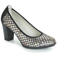 Zapatos Mujer Zapatos de tacón Dorking 7736 Gris / Negro