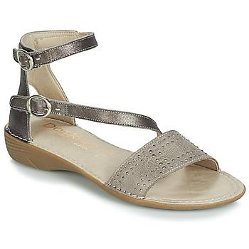 Zapatos Mujer Sandalias Dorking 7863 Gris