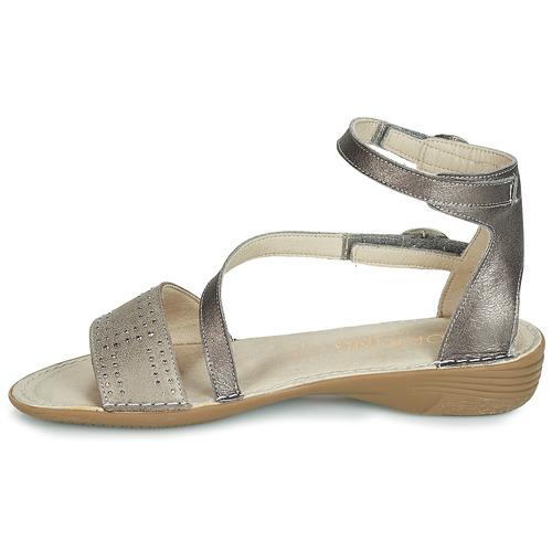 Zapatos 7863 Gris Sandalias Dorking Mujer k0nwOP