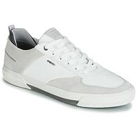 Zapatos Hombre Zapatillas bajas Geox KAVEN A Blanco