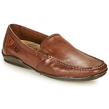 Zapatos Hombre Mocasín Fluchos BALTICO Marrón
