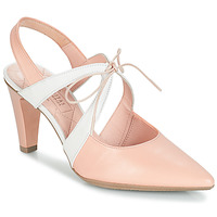 Zapatos Mujer Sandalias Hispanitas CRISTINA7 Rosa / Blanco