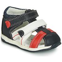 Zapatos Niño Sandalias Chicco GABRIEL Azul / Blanco / Rojo
