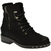 Zapatos Mujer Botines Isteria 8242 negro