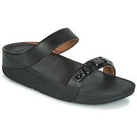 Zapatos Mujer Sandalias FitFlop FINO SHELLSTONE Negro