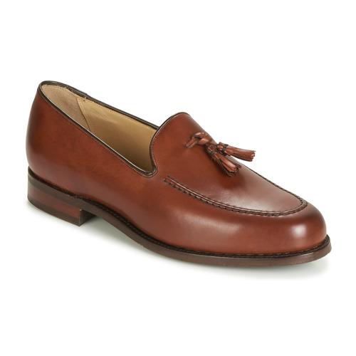 Zapatos Hombre Mocasín Barker STUDLAND Marrón
