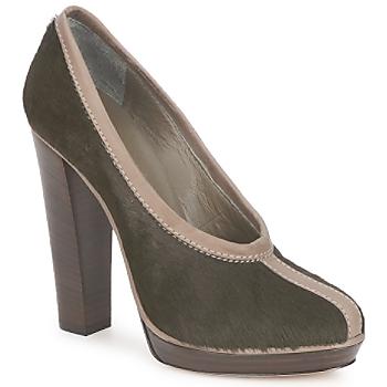 Zapatos Mujer Zapatos de tacón Kallisté ESCARPIN 5949 Militar