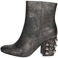 Zapatos Mujer Botines Luciano Barachini BB242V Gris antracita