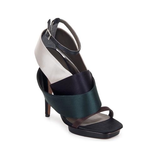 Zapatos Mujer Sandalias Kallisté NU-PIED 5801 Argento