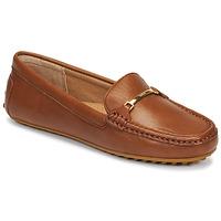 Zapatos Mujer Mocasín Lauren Ralph Lauren BRIONY Cognac