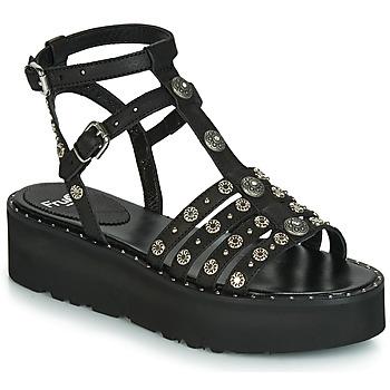 Zapatos Mujer Sandalias Fru.it 5433-475 Negro