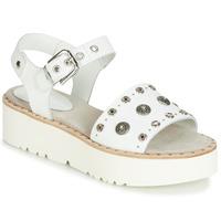 Zapatos Mujer Sandalias Fru.it 5435-476 Blanco