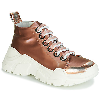 Zapatos Mujer Zapatillas bajas Fru.it 5390-850 Bronce