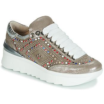 Zapatos Mujer Zapatillas bajas Fru.it 5357-007 Beige / Strass