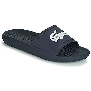 Zapatos Hombre Chanclas Lacoste CROCO SLIDE 119 1 Marino / Blanco