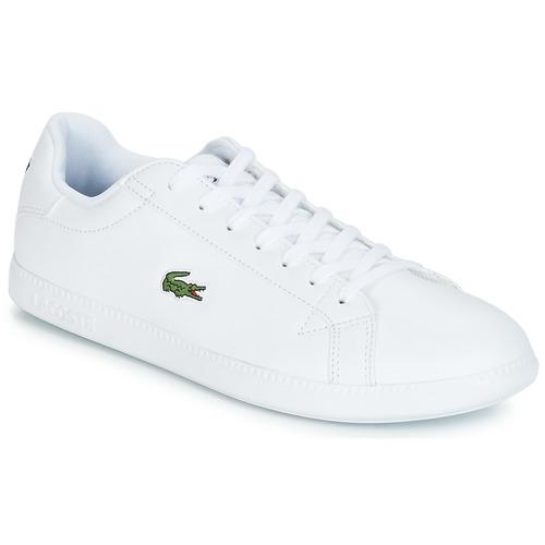 Zapatos Hombre Zapatillas bajas Lacoste GRADUATE BL 1 Blanco