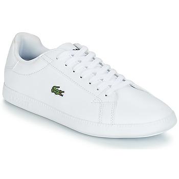 Zapatos Mujer Zapatillas bajas Lacoste GRADUATE BL 1 Blanco
