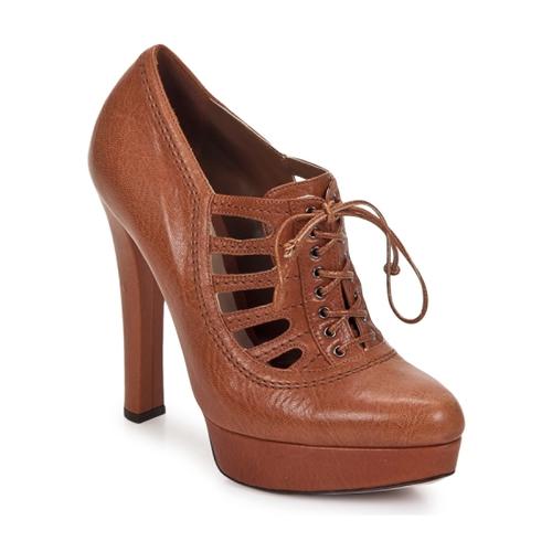 Zapatos especiales para hombres y mujeres Sebastian AYCU Marrón - Envío gratis Nueva promoción - Zapatos Low boots Mujer