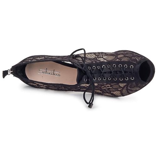Zapatos de mujer baratos zapatos de mujer Zapatos especiales Sebastian GRIPO Negro