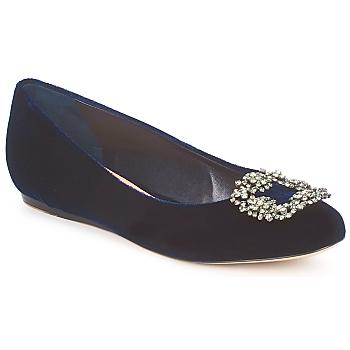 Zapatos Mujer Bailarinas-manoletinas Sebastian ELIAJU Azul