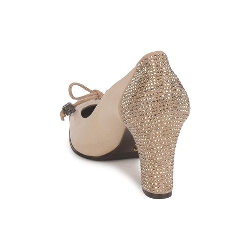 Zapatos Mujer Beige Pasqua De Tacón Fabi thdsQrCx