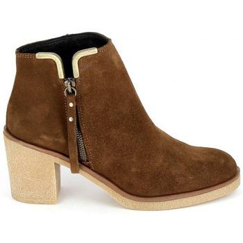 Zapatos Mujer Botines Porronet Boots 4032 Marron Marrón