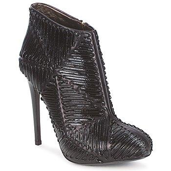 Zapatos Mujer Botines Roberto Cavalli QPS566-PN018 Negro
