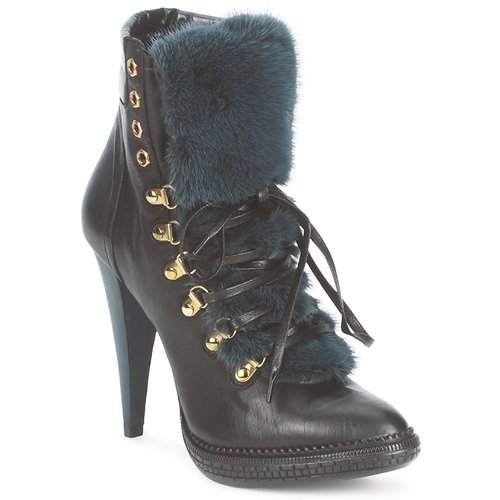 Zapatos Mujer Botines Roberto Cavalli QPS583-PZ260 Marrón