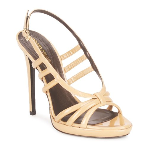 Zapatos Mujer Sandalias Roberto Cavalli QDS626-PL028 Beige