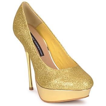 Zapatos Mujer Zapatos de tacón French Connection JEZABEL Gold