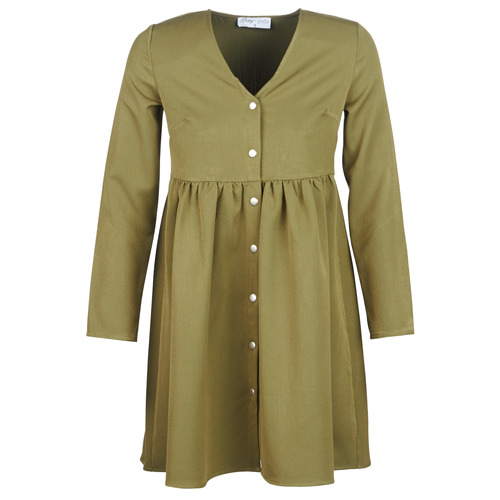 Betty London J.PRETTY TIME Kaki - Envío gratis | ! - textil vestidos cortos Mujer