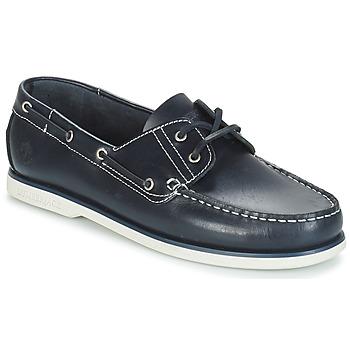 Zapatos Hombre Zapatos náuticos Lumberjack NAVIGATOR Marino