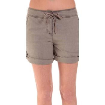 textil Mujer Shorts / Bermudas Sud Express SHORT SATIL TAUPE Marrón