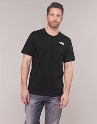 textil Hombre Camisetas manga corta The North Face MEN'S S/S REDBOX TEE Negro