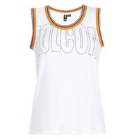 textil Mujer camisetas sin mangas Volcom IVOL TANK Blanco