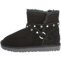 Zapatos Mujer Botas de nieve Pregunta PL3358PL 001 Negro
