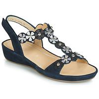 Zapatos Mujer Sandalias Ara CAP-HS Negro