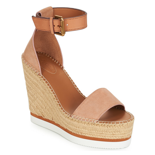 Chloé RosaNude Alpargatas Zapatos See Sb26152 By Mujer htrdsCxQ
