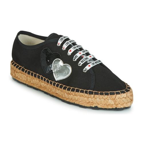 Zapatos Mujer Alpargatas Love Moschino JA10263G07 Negro