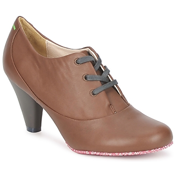 Zapatos Mujer Low boots Terra plana GINGER ANKLE Marrón