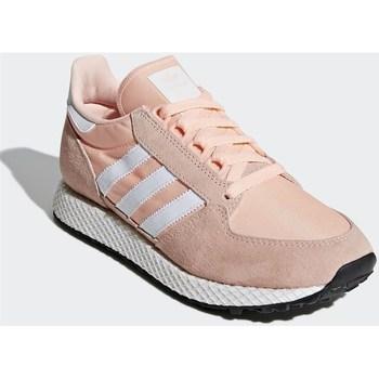 Zapatos Mujer Zapatillas bajas adidas Originals Forest Grove W Rosa