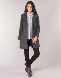 textil Mujer Abrigos Casual Attitude HAIELLI Gris