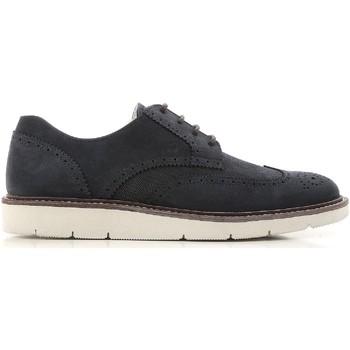 Zapatos Hombre Derbie Hogan HXM3220Y211I8VU805 Blu medio