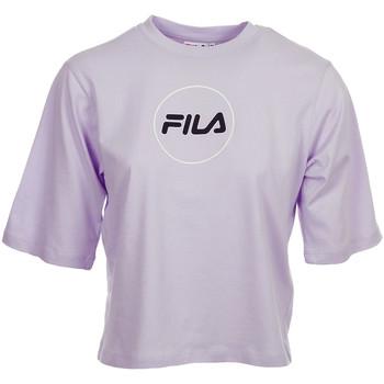 textil Mujer camisetas manga corta Fila Rehan Tee SS Wn's Violeta