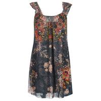textil Mujer vestidos cortos Desigual NIELS Gris